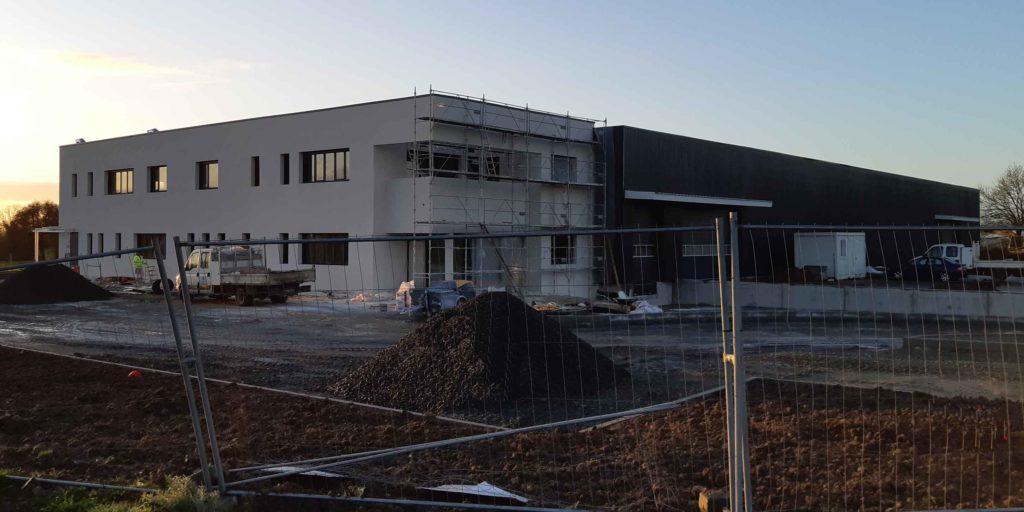 Extebois présentation du nouveau bâtiment